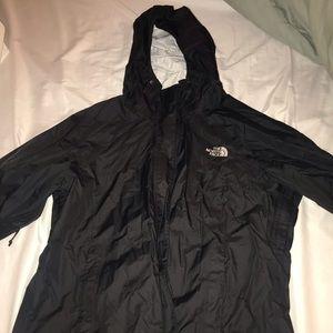 Northface zip up hoodie windbreaker